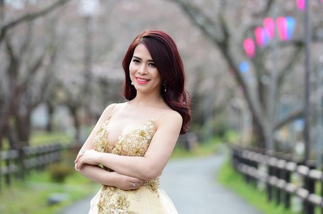 Nhan sắc bạn gái kém 17 tuổi của Chí Trung thời đi thi hoa hậu - Ảnh 4.