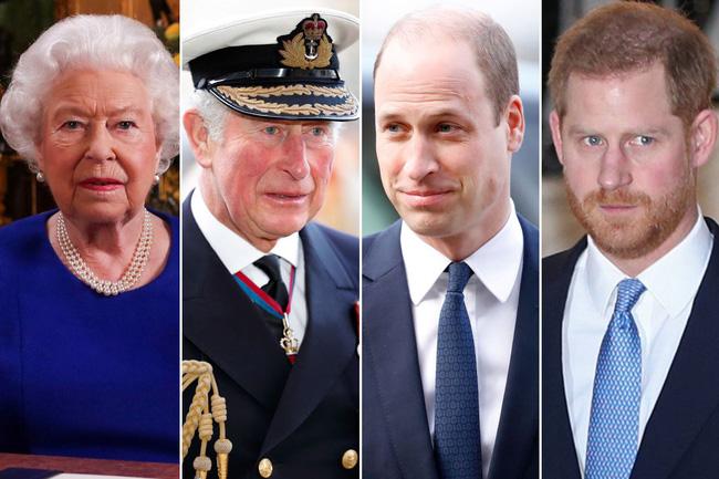 Nữ hoàng Anh cùng 3 thành viên cao cấp xuất hiện trong cuộc họp kín.