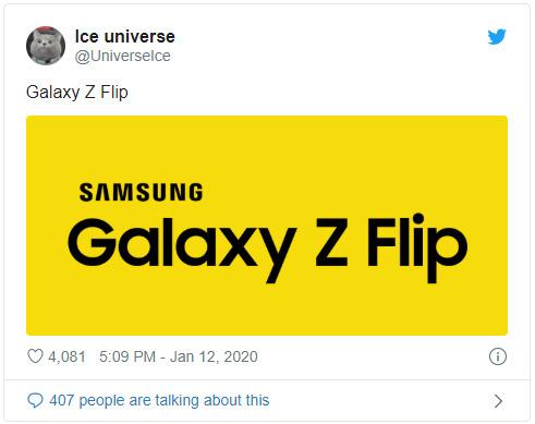 Smartphone màn hình gập vỏ sò của Samsung sẽ có tên Galaxy Z Flip - Ảnh 2.
