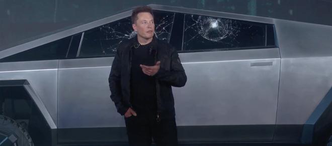 Tesla đang bán áo phông in hình kỷ niệm chiếc Cybertruck bị vỡ cửa sổ - Ảnh 2.
