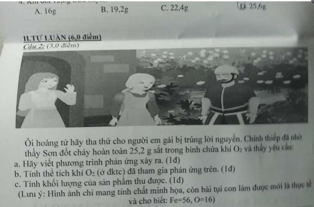 Lại thêm một đề kiểm tra bắt trend câu nói viral: Thầy cô mà cứ dễ thương và lầy lội thế này thì học sinh nào mà chịu cho nổi! - Ảnh 1.