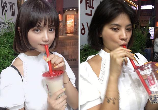 Người mẫu Thái Lan gây sốt bằng bộ ảnh Instagram vs thực tế khoe nhan sắc xinh hết nút đi kèm với sự thật hết hồn - Ảnh 12.