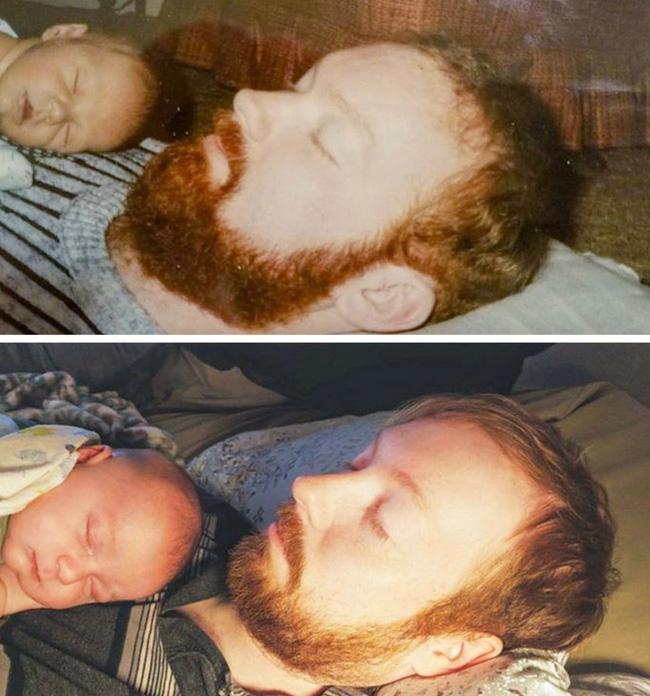 18 bức ảnh chứng minh con chính là bản sao không thể chối cãi của bố mẹ - Ảnh 8.