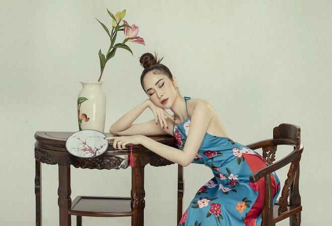 Phan Ngọc Hân xinh đẹp trong bộ ảnh mới, tiết lộ thường xuyên bị hỏi chuyện lấy chồng - Ảnh 5.