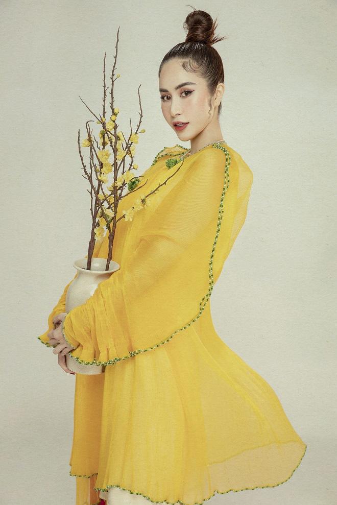 Phan Ngọc Hân xinh đẹp trong bộ ảnh mới, tiết lộ thường xuyên bị hỏi chuyện lấy chồng - Ảnh 10.