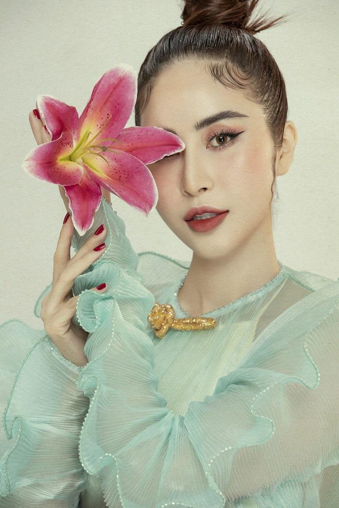 Phan Ngọc Hân xinh đẹp trong bộ ảnh mới, tiết lộ thường xuyên bị hỏi chuyện lấy chồng - Ảnh 7.