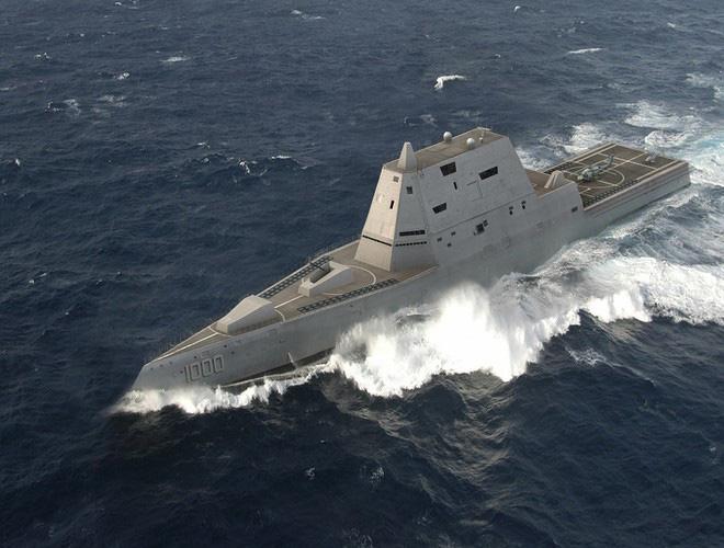 [ẢNH] Khu trục hạm 'siêu dị' của Mỹ có thể tấn công toàn cầu chỉ trong 1 giờ - ảnh 17