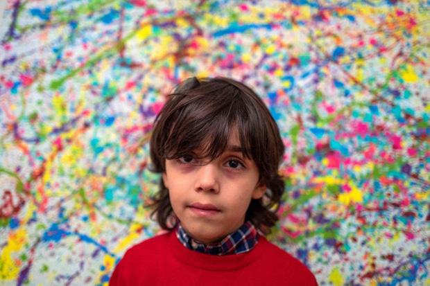 Picasso nhí của Đức gây ra cơn bão trong thế giới nghệ thuật dù mới chỉ 7 tuổi - Ảnh 3.