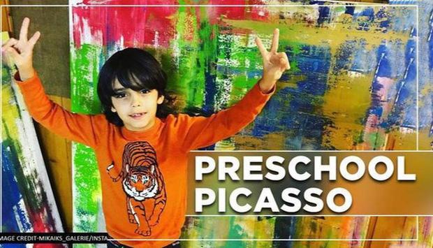 Picasso nhí của Đức gây ra cơn bão trong thế giới nghệ thuật dù mới chỉ 7 tuổi - Ảnh 4.