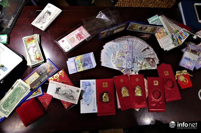 Độc đáo tiền lì xì in hình chuột hút khách trước dịp Tết Nguyên đán Canh Tý - Ảnh 10.
