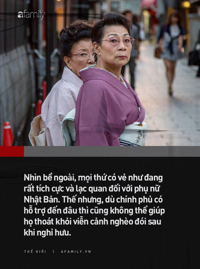 Nhật Bản là đất nước phát triển bậc nhất nhưng phụ nữ nước này đang phải đối mặt với viễn cảnh nghèo khó sau khi sinh con và nghỉ hưu - ảnh 1