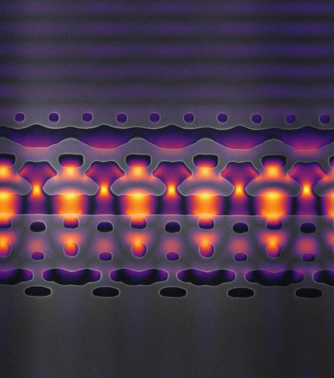 Các nhà khoa học chế tạo được máy gia tốc hạt tí hon: chỉ nhỏ bằng nửa sợi tóc, đặt vừa trên một con chip - Ảnh 2.