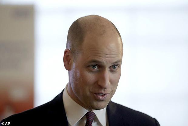 Hoàng tử William cũng bị căn bệnh hói đầu tấn công và vị Công tước cũng là nạn nhận của sự châm chọc đến từ người em trai.