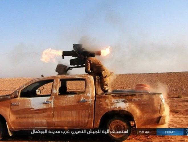 Phiến quân đánh chặn, quân đội Syria bỏ cả sát thủ diệt tăng Nga để chạy thoát - Ảnh 4.