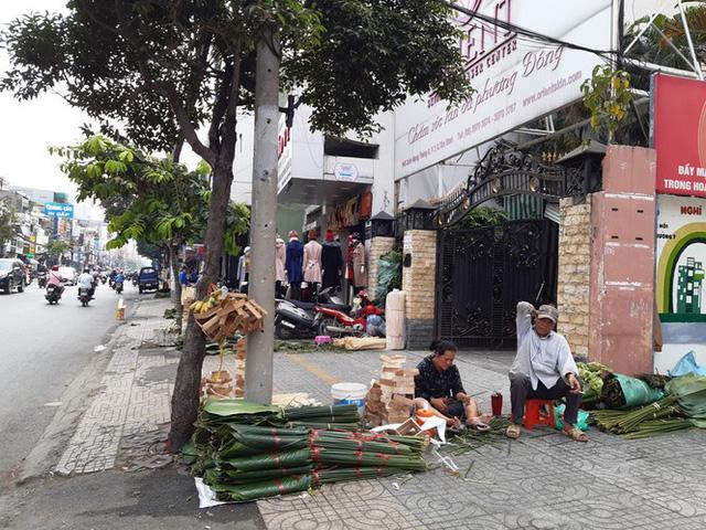 Chợ lá dong nửa thế kỷ ở Sài Gòn ế ẩm do heo tăng giá - Ảnh 9.