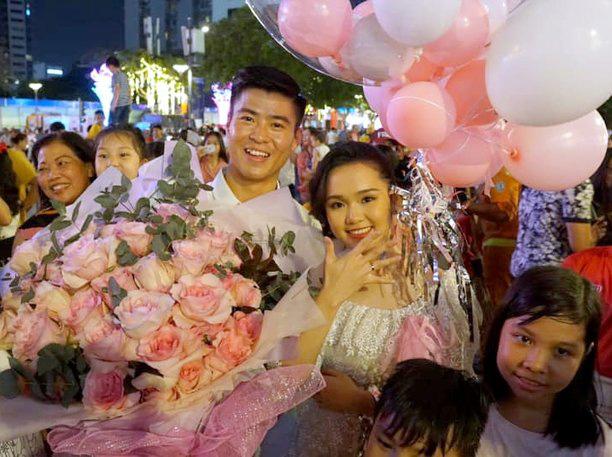 Nhìn lại hành trình yêu của Duy Mạnh và Quỳnh Anh trước khi kết hôn - Ảnh 1.