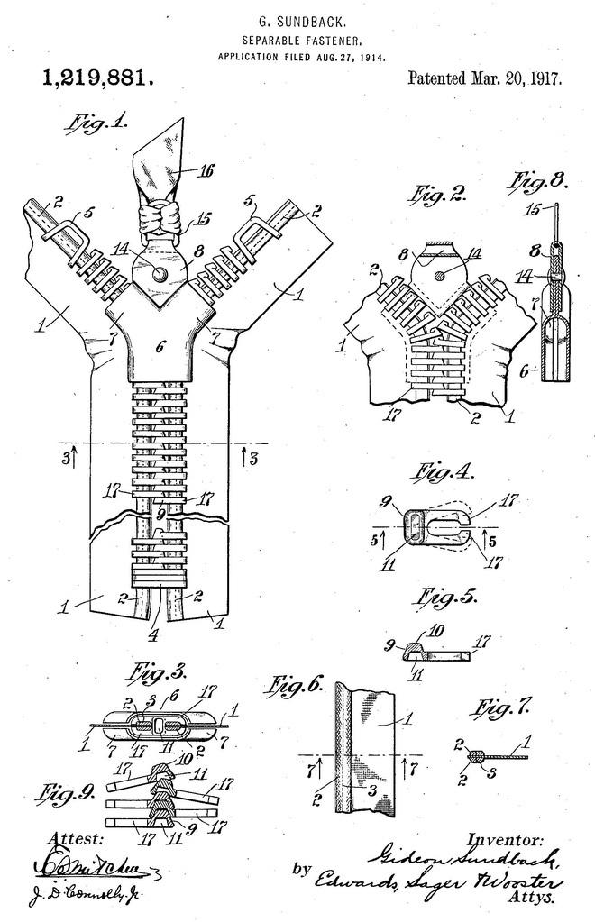 Hành trình phát triển của chiếc khóa kéo: Từ một sáng chế thất bại trở thành một phần không thể thiếu của cuộc sống hàng ngày - Ảnh 3.
