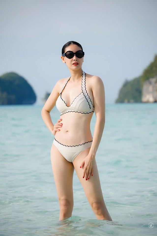 Thân hình nóng bỏng khó tin ở tuổi 43 của hoa hậu Hà Kiều Anh - Ảnh 8.