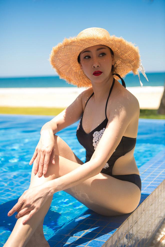 Thân hình nóng bỏng khó tin ở tuổi 43 của hoa hậu Hà Kiều Anh - Ảnh 9.