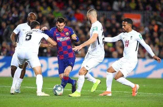 Mừng thầy mới ra mắt, Messi tặng ngay bàn thắng bằng vàng giúp Barcelona đòi lại ngôi đầu từ tay đại kình địch - Ảnh 2.