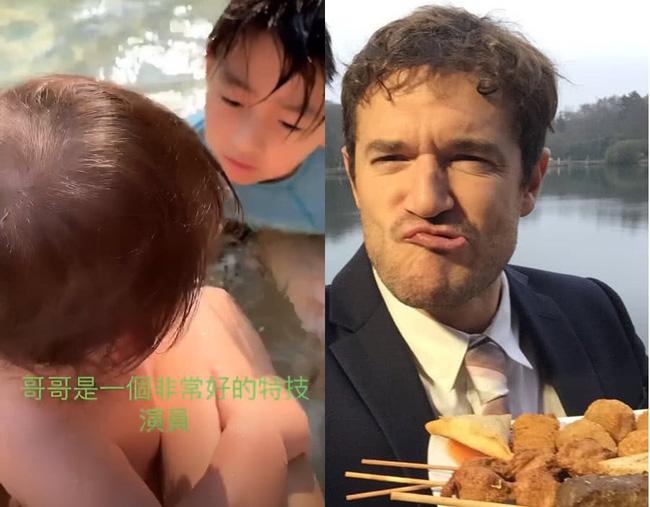 Chỉ với hành động này, Trương Bá Chi đã gián tiếp thừa nhận bé Marcus chính là con lai, netizen gọi tên người bạn trai ngoại quốc? - ảnh 5