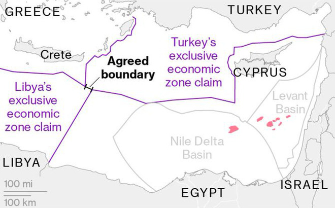 Ai Cập quyết thách thức Thổ ở Địa Trung Hải, chiến sự Libya có chuyển biến lớn? - Ảnh 1.
