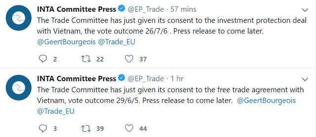 Ủy ban Thương mại châu Âu chính thức thông qua EVFTA và EVIPA - Ảnh 1.