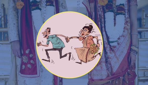 Đám cưới Ấn Độ phải hủy gấp vì bố chú rể và mẹ cô dâu tự dưng... đưa nhau đi trốn - Ảnh 1.