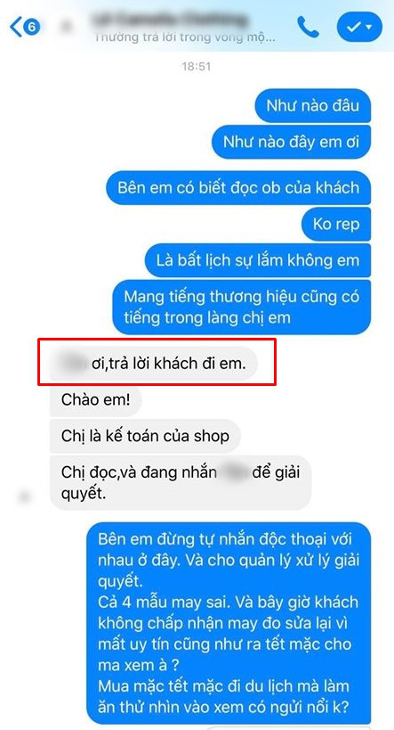 Hớn hở bỏ tận 24 triệu đặt may 3 bộ váy của thương hiệu nổi tiếng, cô gái Hà Nội nhận quả đắng khi shop may sai mẫu còn chối lỗi trắng trợn!?  - Ảnh 4.