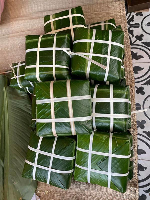 Giỏi giang trên thương trường, lộng lẫy ở sân khấu, Hoa hậu Hà Kiều Anh vẫn biết gói hơn 100 cái bánh chưng đón Tết - Ảnh 4.