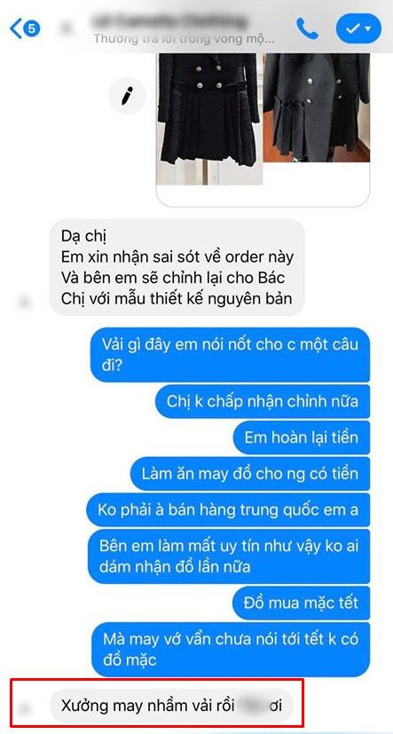 Hớn hở bỏ tận 24 triệu đặt may 3 bộ váy của thương hiệu nổi tiếng, cô gái Hà Nội nhận quả đắng khi shop may sai mẫu còn chối lỗi trắng trợn!?  - Ảnh 6.