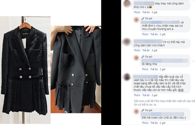 Hớn hở bỏ tận 24 triệu đặt may 3 bộ váy của thương hiệu nổi tiếng, cô gái Hà Nội nhận quả đắng khi shop may sai mẫu còn chối lỗi trắng trợn!?  - Ảnh 9.