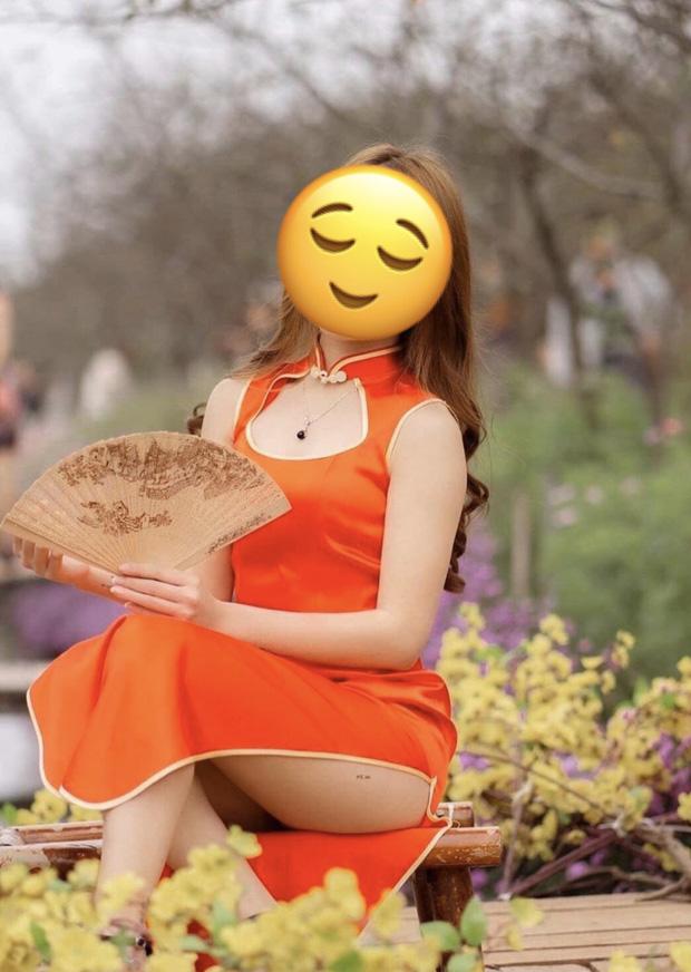 Phó nháy nhận rổ gạch đá vì chụp mẫu mặc sườn xám ngồi hớ hênh ở vườn hoa Tết, lên tiếng: Đã xin mẫu vén cao váy và cô đồng ý - Ảnh 1.