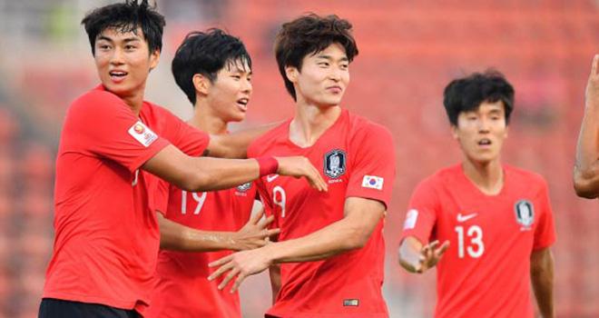"""Sau 18 cú dứt điểm, Hàn Quốc """"chôn vùi"""" Australia để tiến vào chung kết giải U23 châu Á - Ảnh 1."""