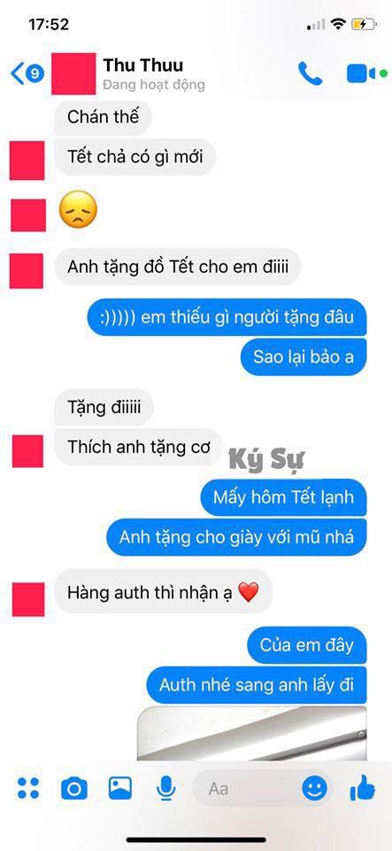Người yêu cũ tự nhiên nhắn tin đòi quà Tết, thanh niên cứng gửi một bức ảnh khiến cô nàng tắt tiếng - Ảnh 1.