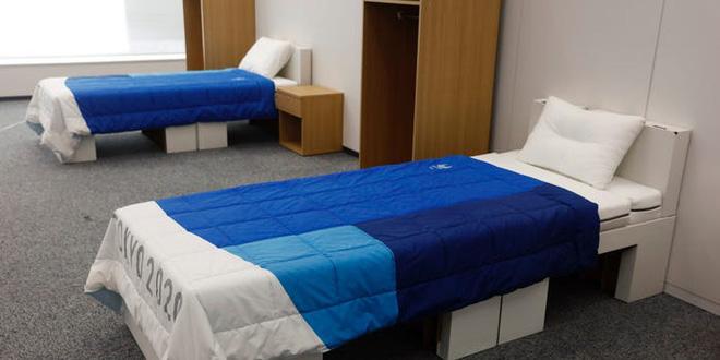 Nhật Bản trang bị giường bằng bìa cứng tại làng Olympic, vô cùng chắc chắn, chịu lực tải gần 200kg - Ảnh 3.