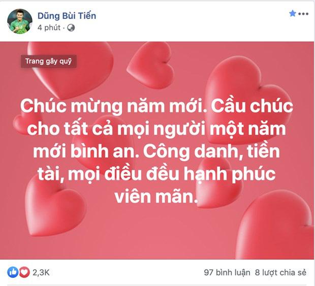 Cầu thủ tuyển Việt Nam nô nhau chúc tết Canh Tý an lành người hâm mộ - Ảnh 1.