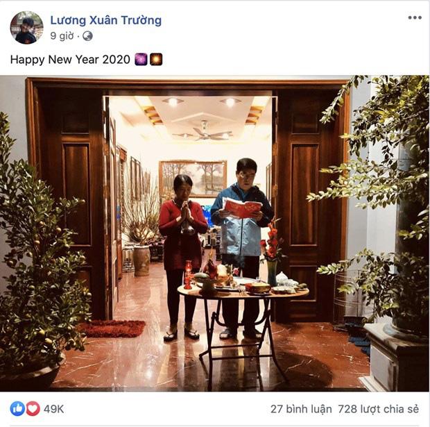 Cầu thủ tuyển Việt Nam nô nhau chúc tết Canh Tý an lành người hâm mộ - Ảnh 2.