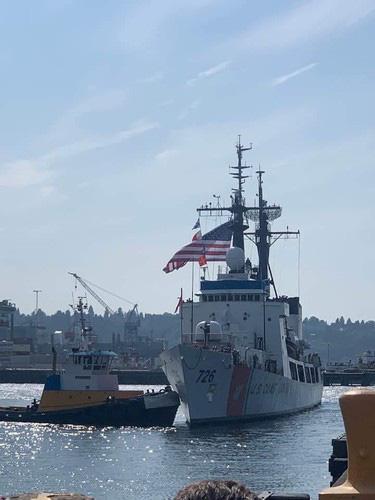 [ẢNH] Cảnh sát biển Việt Nam thăm tàu tuần tra USCGC John Midgett sắp được Mỹ bàn giao - Ảnh 14.