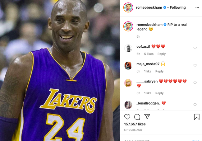 Justin Bieber, Taylor Swift... cùng loạt sao nổi tiếng thế giới bàng hoàng trước tin huyền thoại bóng rổ Kobe Bryant và con gái 13 tuổi qua đời vì tai nạn trực thăng - Ảnh 11.