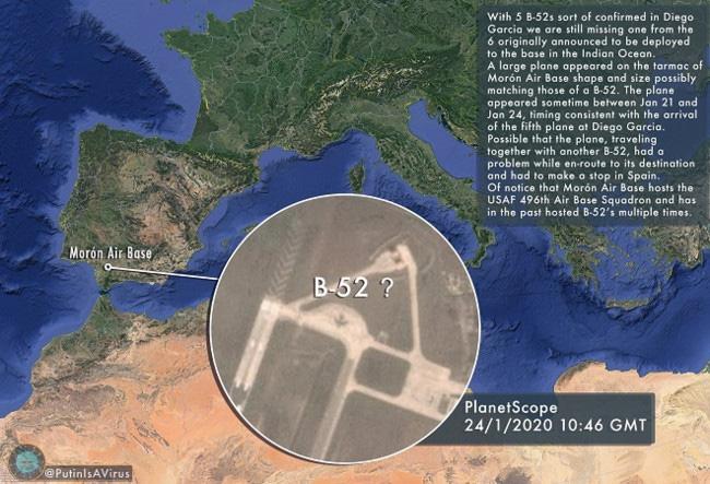 Máy bay ném bom Mỹ phải hạ cánh khẩn cấp tại Tây Ban Nha - Ảnh 1.