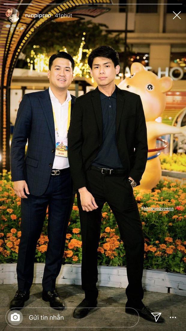 Đầu năm em chồng Hà Tăng đã làm dân tình mê mẩn vì điển trai khó cưỡng, càng nổi bật khi chung khung hình với Phillip Nguyễn - Ảnh 1.