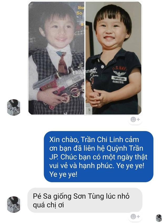 Hoá ra bé Sa là 'bản sao thất lạc' lúc nhỏ của Sơn Tùng M-TP: Con mẹ Quỳnh Trần JP sau này không hot boy cũng cực phẩm 'vạn người mê'! - ảnh 1