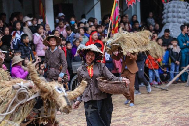 Trai làng giả gái gieo hạt tại lễ hội trâu bò rơm rạ tỉnh Vĩnh Phúc - Ảnh 14.