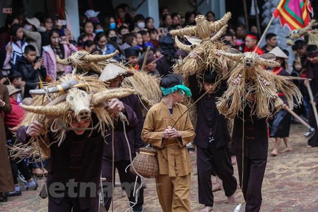 Trai làng giả gái gieo hạt tại lễ hội trâu bò rơm rạ tỉnh Vĩnh Phúc - Ảnh 15.