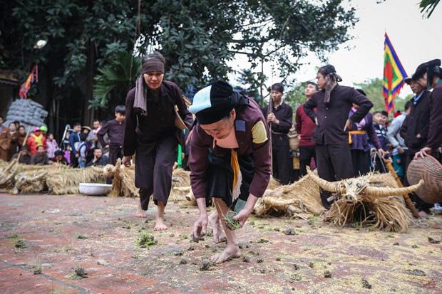 Trai làng giả gái gieo hạt tại lễ hội trâu bò rơm rạ tỉnh Vĩnh Phúc - Ảnh 18.