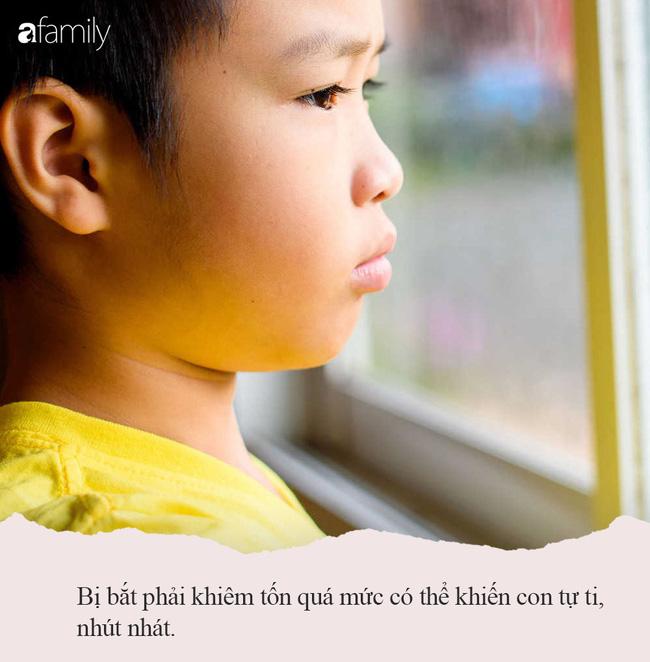 Nếu cứ bắt con phải thực hiện 3 phép lịch sự này thì không khác nào bố mẹ đang dồn con vào tình trạng tổn thương tâm lý - Ảnh 4.
