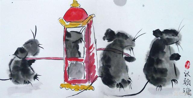 Đám Cưới Chuột: Quyết tâm tìm kiếm hạnh phúc cho con gái của hai vợ chồng chuột già vào dịp đầu năm mới và dị bản đáng sợ ở Trung Quốc - Ảnh 4.