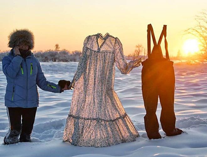 Sống trong trời lạnh -59 độ C, người dân Siberia vẫn thấy… mát nhẹ - ảnh 1