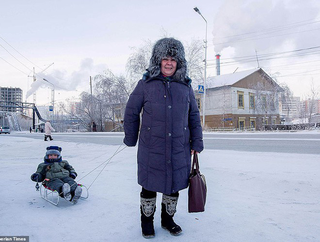 Sống trong trời lạnh -59 độ C, người dân Siberia vẫn thấy… mát nhẹ - ảnh 10